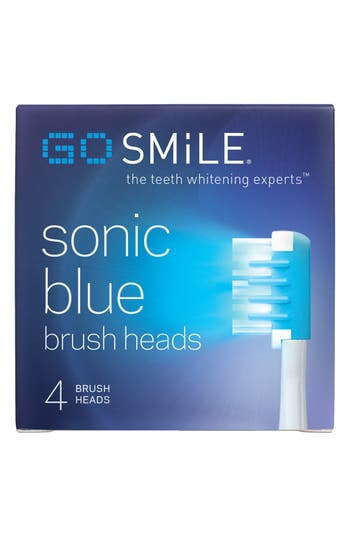 Alternate Image 2  - GO SMiLE® 'Sonic Blue' Replacement Brush Heads