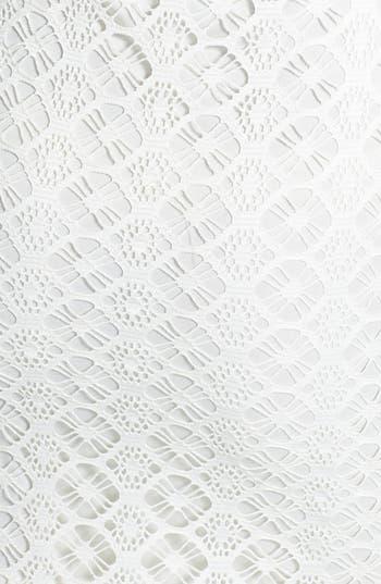 Alternate Image 3  - Painted Threads Back Cutout Crochet Body-Con Dress (Juniors)