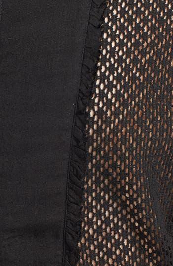Alternate Image 3  - RVCA 'Woodruff' Crochet Panel Dress