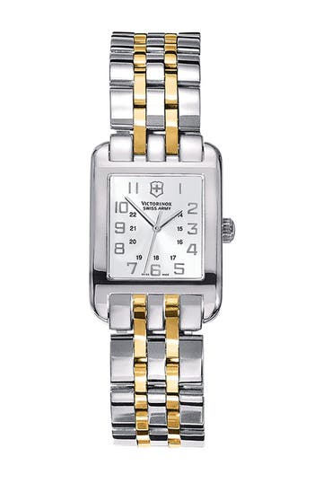 Alternate Image 1 Selected - Victorinox Swiss Army® 'Alliance' Rectangular Case Watch, 21mm x 28mm
