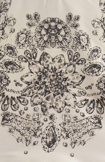 Alternate Image 3  - RED Valentino Floral Print Drop Waist Dress
