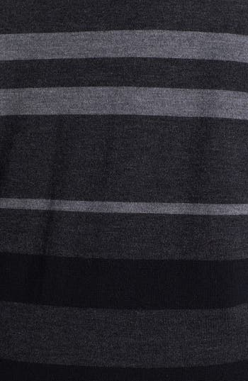 Alternate Image 3  - Eileen Fisher Stripe Tunic Sweater (Plus Size)