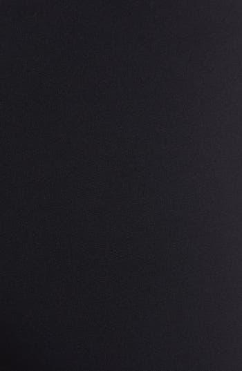 Alternate Image 5  - Lafayette 148 New York Leather Trim Punto Milano Pants