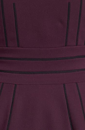 Alternate Image 3  - Diane von Furstenberg 'Georgette' Ponte Fit & Flare Dress