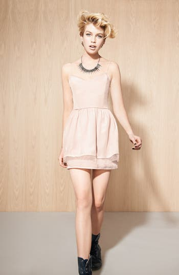 Alternate Image 4  - Like Mynded Elastic Back Dress