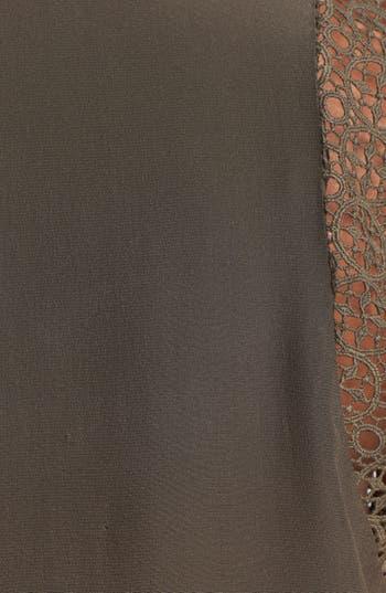 Alternate Image 3  - Daniel Rainn Crochet Shoulder Sleeveless Blouse