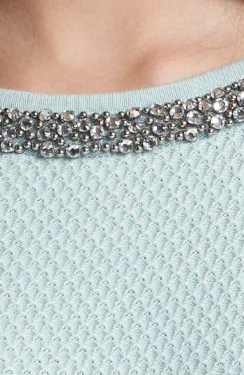 Alternate Image 3  - Hinge® Jewel Neck Sweater