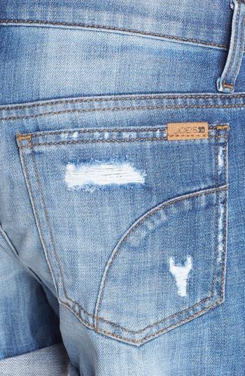 Alternate Image 3  - Joe's Loose Fit Denim Shorts (Blanchett Wash)