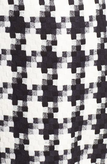 Alternate Image 3  - Laundry by Shelli Segal Houndstooth Dress