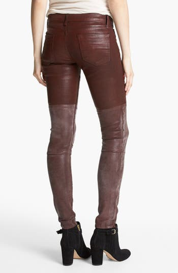 Alternate Image 2  - edyson Skinny Moto Pants