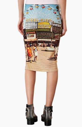 Alternate Image 2  - Topshop 'Big Wheel' Tube Skirt