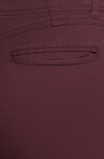 Alternate Image 3  - Jolt Zipper Detail Twill Pants (Juniors)