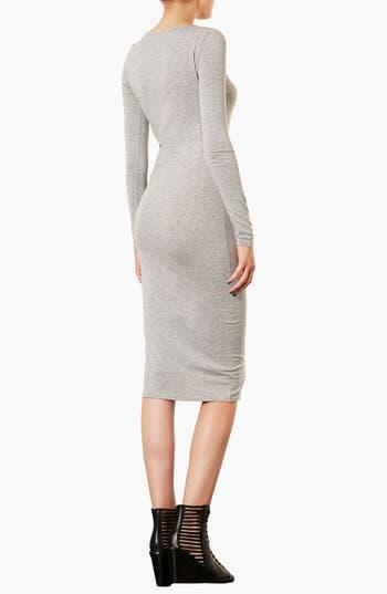 Alternate Image 2  - Topshop Midi Length Body-Con Dress