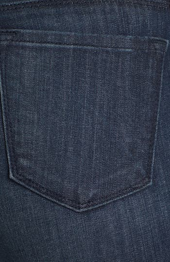 Alternate Image 3  - J Brand '8066' Mid Rise Step Hem Skinny Jeans (Snowbird)