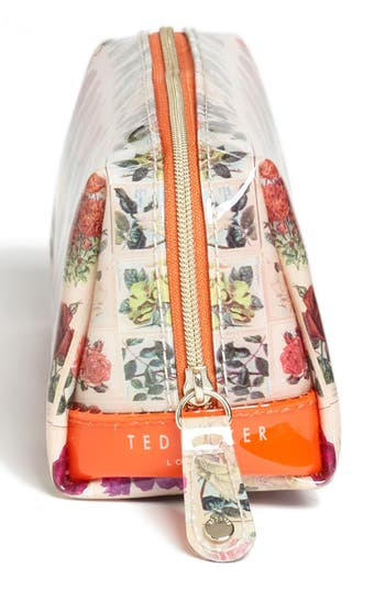 Alternate Image 3  - Ted Baker London 'Roses in a Row - Small' Cosmetics Case