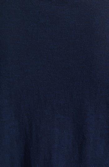 Alternate Image 3  - Lucky Brand 'Simoni' Scarf Print Cardigan (Plus Size)