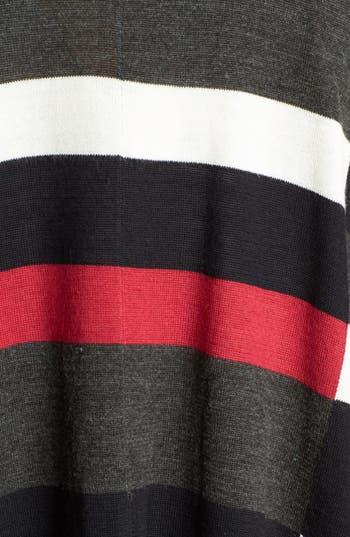 Alternate Image 3  - Foxcroft Plaid Poncho Sweater (Plus Size)