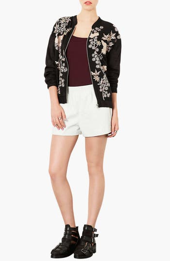 Alternate Image 3  - Topshop 'Chinoiserie' Embroidered Bomber Jacket