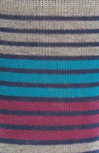 Alternate Image 2  - Pact Triple Stripe Socks