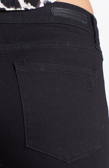 Alternate Image 3  - Articles of Society 'Mya' Skinny Jeans (Blackout) (Juniors)