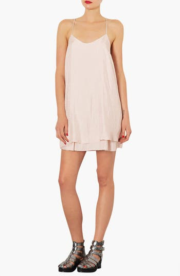 Alternate Image 1 Selected - Topshop Satin Slipdress