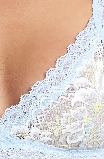 Alternate Image 4  - Hanky Panky 'Bella Blue Enchanted' Demi Bralette