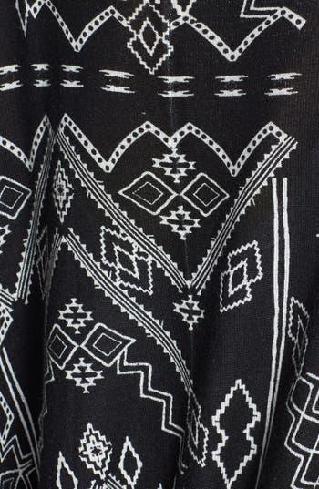 Alternate Image 3  - Billabong 'Drift Together' Geometric Pattern Open Front Cardigan (Juniors)