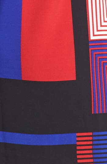 Alternate Image 3  - Vince Camuto Patchwork Colorblock Shift Dress (Online Only)