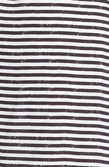 Alternate Image 3  - Trixxi Stripe Ruffle High/Low Dress (Juniors) (Online Only)