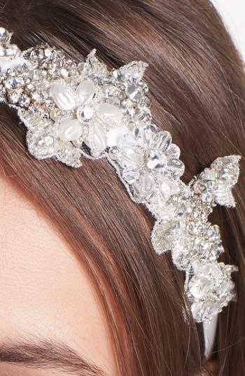 Alternate Image 2  - Untamed Petals by Amanda Judge 'Dawson' Beaded Head Wrap