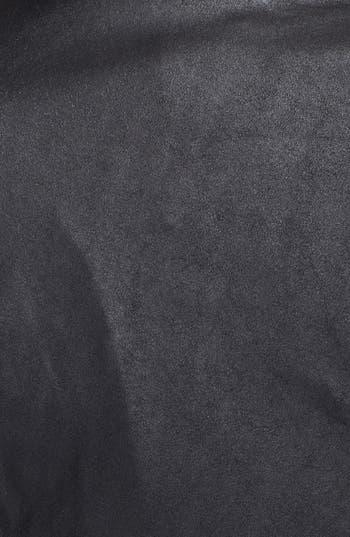 Alternate Image 3  - BB Dakota Drape Front Leather Jacket