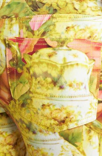 Alternate Image 3  - Ted Baker London 'Danelle - Tea Pot' Ankle Skinny Stretch Ankle Jeans (Shell)