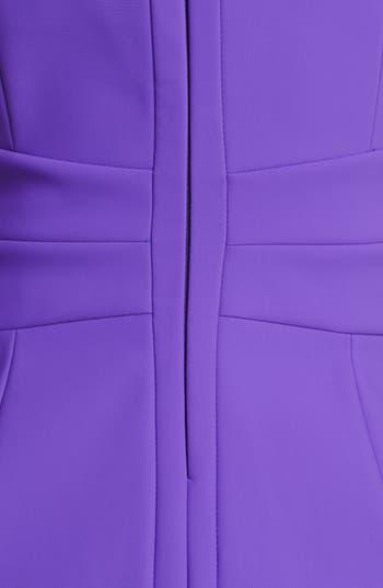 Alternate Image 3  - Laundry by Shelli Segal Cutout Scuba Knit Sheath Dress