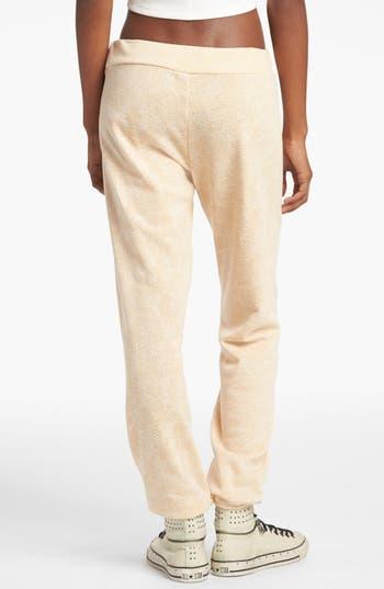 Alternate Image 2  - Piper Burnout Print Sweatpants