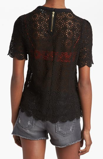 Alternate Image 2  - ASTR Lace Tee