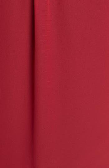 Alternate Image 3  - Chaus Roll Sleeve Chiffon Blouse