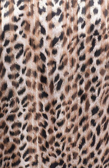 Alternate Image 3  - Chaus Split Neck Leopard Print Blouse