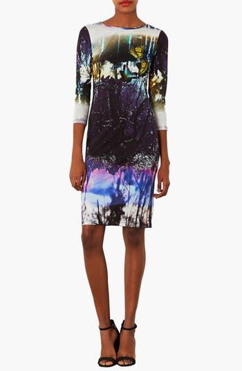 Alternate Image 1 Selected - Topshop 'Moodywood' Body-Con Dress