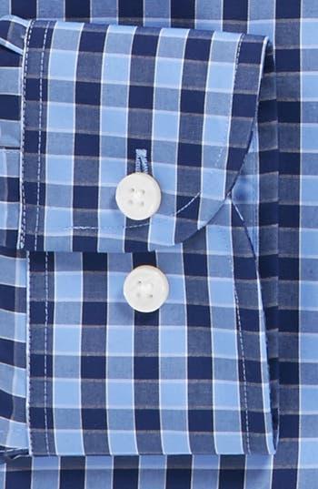 Alternate Image 2  - Michael Kors Gingham Regular Fit Non-Iron Dress Shirt
