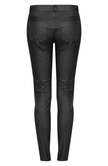 Alternate Image 2  - Topshop 'The Collection Starring Kate Bosworth' Leather Pants