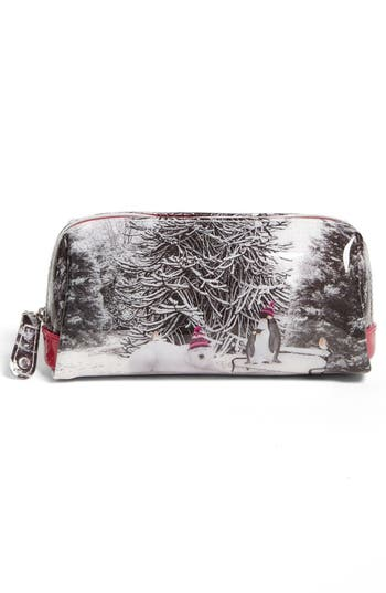 Alternate Image 3  - Ted Baker London 'Holiday - Snow Place' Cosmetics Case