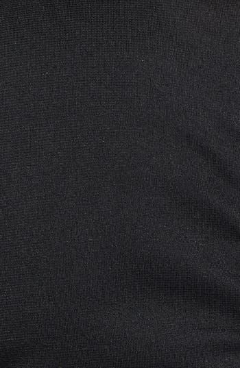 Alternate Image 3  - C. Luce Scalloped Faux Leather Peplum Top (Juniors)