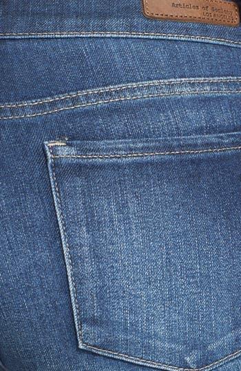 Alternate Image 3  - Articles of Society 'Mya' Skinny Jeans (Dark) (Juniors)