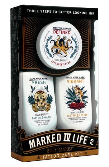 Alternate Image 2  - Billy Jealousy 'Marked IV Life' Tattoo Care Kit ($51 Value)