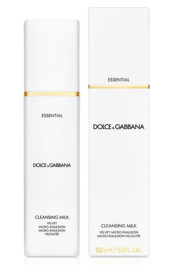 Alternate Image 2  - Dolce&GabbanaBeauty 'Essential' Cleansing Milk Velvet Micro-Emulsion