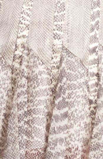Alternate Image 3  - Jason Wu Snakeskin Print Satin & Chiffon Skirt