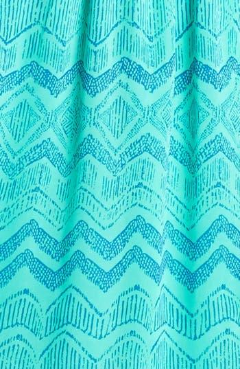 Alternate Image 3  - Soprano Strappy Print Racerback Dress (Juniors)