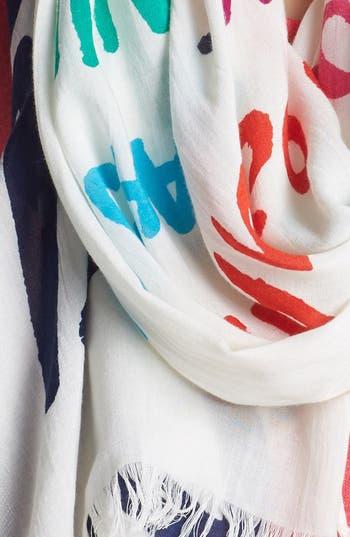 Alternate Image 2  - kate spade new york 'popsicle' scarf