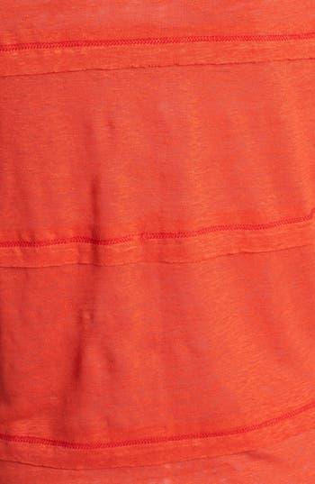 Alternate Image 3  - Olivia Moon Layered Linen Tee