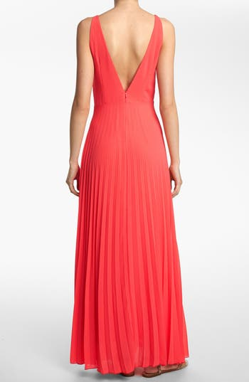 Alternate Image 2  - Like Mynded Pleated Maxi Dress